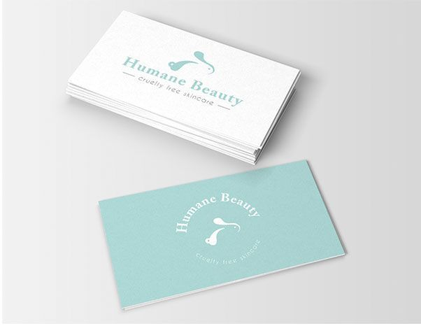 Logo humane beauty 99 design by estibaliz lopez
